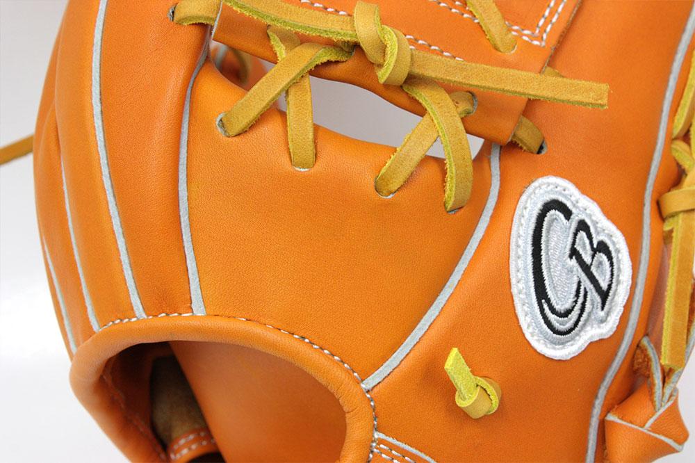 久保田スラッガー KSG-PROB オレンジ 硬式軟式兼用トレーニング用グラブ 【グローブ 野球 軟式 硬式 型付け無料 学生野球対応 GTK】