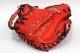 久保田スラッガー 硬式グローブ キャッチャー用  KCR CRオレンジ 硬式用キャッチャーミット 小さめで浅いポケット キャノン砲 高校野球対応 一般用 学生用 プレゼント 野球用品 GTK