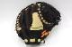 送料無料 久保田スラッガー トレーニングミット LT20-M ブラック×トレンチ 右投げ用 展示会限定品 超小型ミットが上達をアシスト GTK
