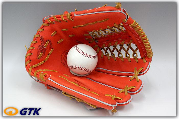 久保田スラッガー KSG-SPA Fオレンジ K7ラベル 硬式外野手用グラブ 世界の青木MLBモデル SPXの改良版、深めのポケットと丸みのある背面がGOOD【グローブ 野球 硬式 型付け無料 高校野球対応】