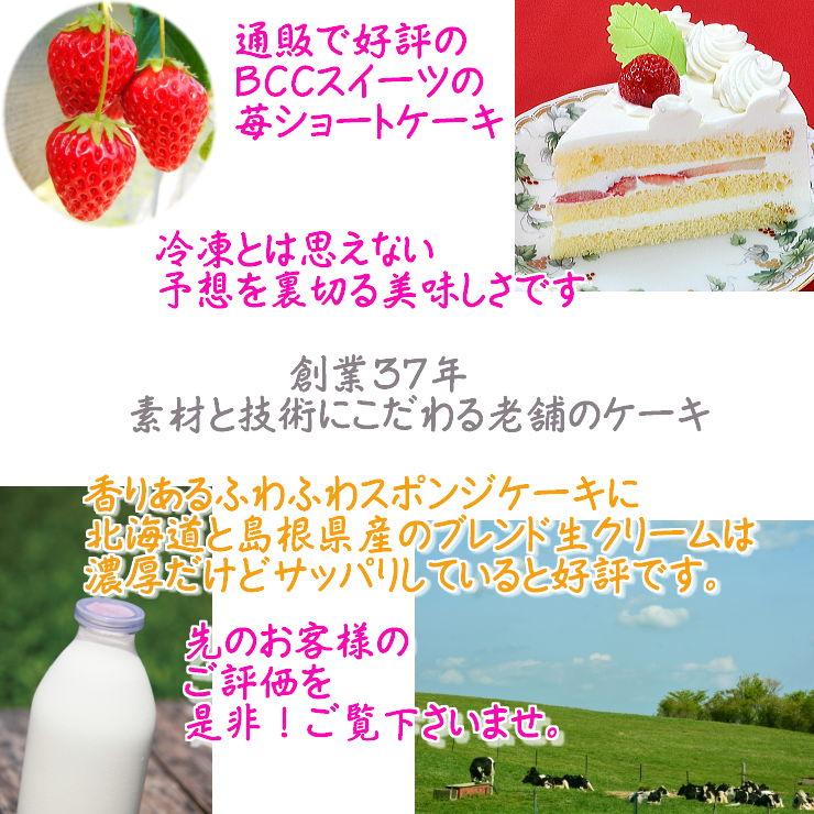 生クリーム ケーキ P付 動物2個付 木苺 6号 / 18cm