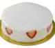 ノーマル 大阪ヨーグルトケーキ 6号 /  18cm <BR>【このケーキは名入れできません名入れ希望は他のケーキをお選び下さい】