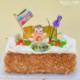 子供の日ケーキ 苺と生クリームのロールケーキ/