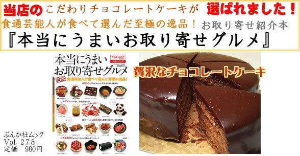 生チョコ ザッハトルテ プレート 5号  /  15cm