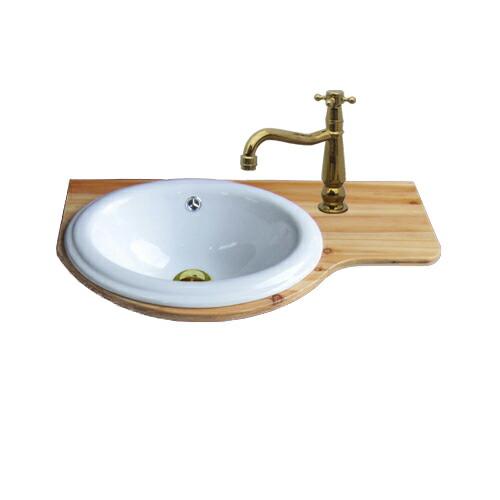 洗面台 セット Eセット41シリーズ 単水栓の6点セット 0302072HKset41