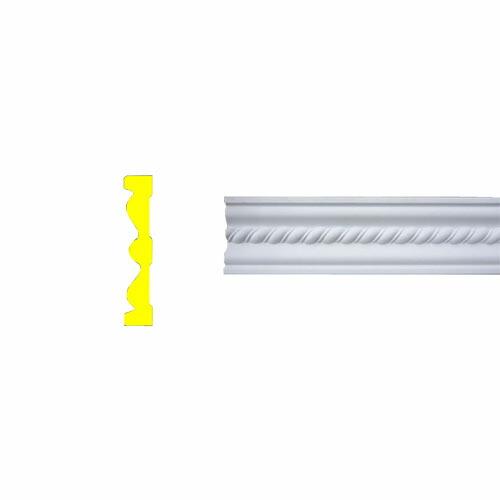 モールディング 装飾 デコラティブ巾木タイプ 室内・外装材 [長さ240×高10.2cm] INK-1302006G