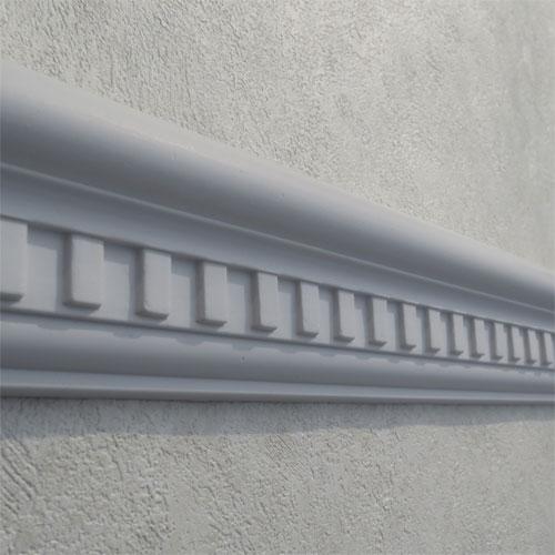モールディング 装飾 デコラティブ巾木タイプ 室内・外装材 [長さ240×高6.5cm] INK-1302008G