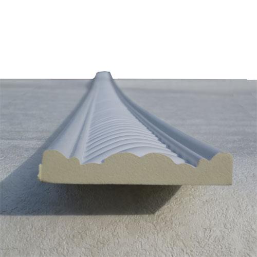 モールディング 装飾 デコラティブ巾木タイプ 室内・外装材 [長さ240×高7.5cm] INK-1302009G