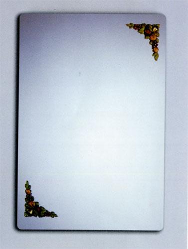 ミラー 鏡 洗面鏡 壁掛け スクエア [幅60×高80cm] DS11