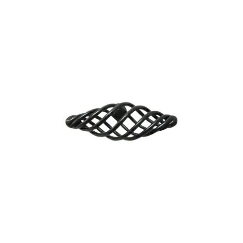 取っ手 つまみ アンティーク風 銅 ブラック ink-1705022h