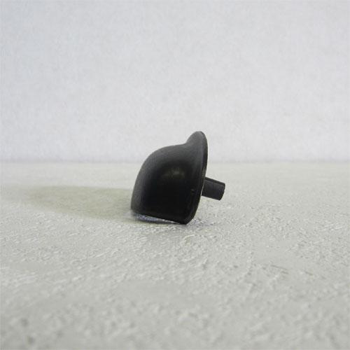 -在庫処分- 多少の傷の為 取っ手 つまみ アンティーク風 アイアン ブラック INK-1705023G