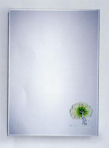 ミラー 鏡 洗面鏡 壁掛け スクエア [幅50×高70cm] LX02