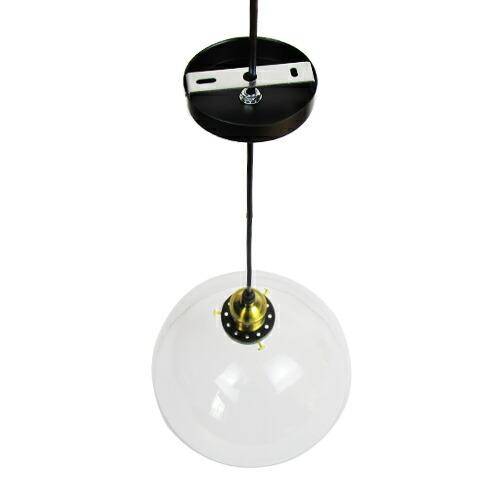 照明 天井 ペンダントライト クリア ガラス おしゃれ LED電球対応 幅30×奥行30×高128cm INK-1002052H