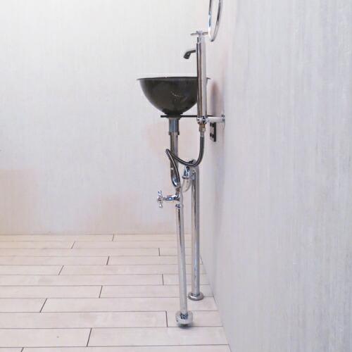 アイアン ラック ハンガーラック 鉄 アンティーク風 [幅43.5×高98cm] INK-1401014G