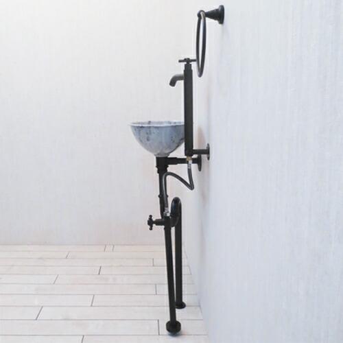ロートアイアン カーホイール タイヤ 飾り インテリア アンティーク風 [幅60×高60cm] INK-1401161G