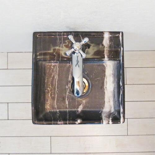洗面台5点セット 壁付け 幅30×奥行29cm Eセット77 INK-0403264Hset