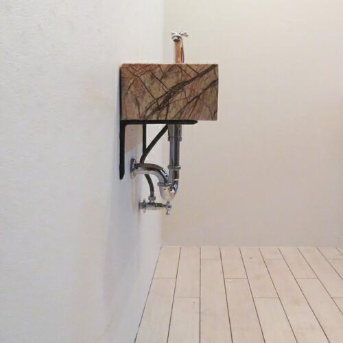 洗面台5点セット 壁付け 幅49×奥行24cm Eセット78| INK-0403277Hset