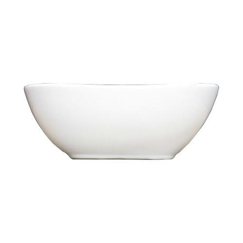 洗面ボウル 陶器 オンカウンタータイプ オーバル 小サイズ 幅34cm INK-0405043H