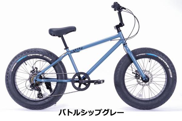 BRONX 20DD/20インチ 7段ギア/全5色