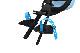 Yepp Nexxt Mini ブルー(フロント取り付けタイプ)