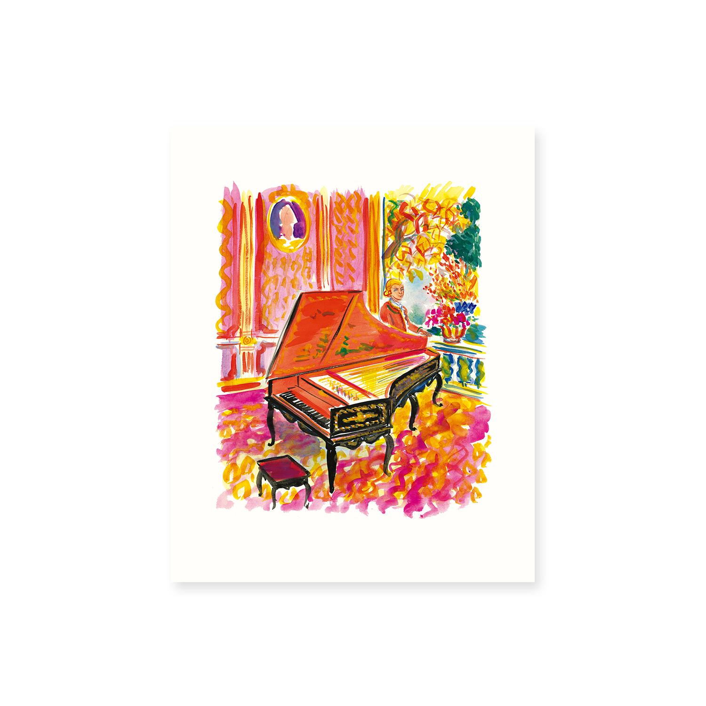 堀内誠一 音楽の肖像《コロタイプポートフォリオ》