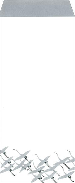 【DM便可】 レターセット〈重文 鶴図下絵和歌巻〉 書:本阿弥光悦筆 画:俵屋宗達筆