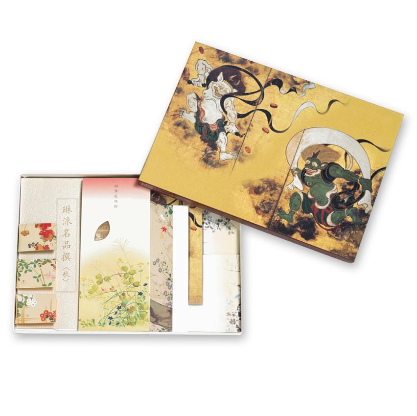 「琳派」季節の文具セット 秋