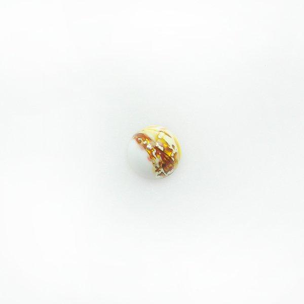ハンドメイドカボションラウンド10mm ホワイト