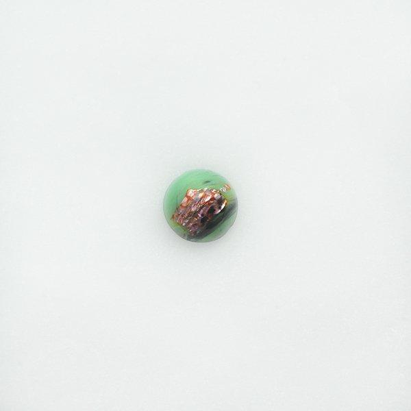 ハンドメイドカボションラウンド10mm ライトグリーン