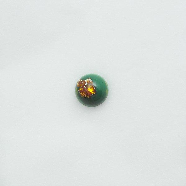 ハンドメイドカボションラウンド10mm グリーン