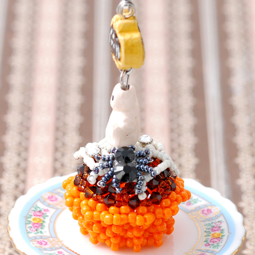 蜘蛛の巣カップケーキキット  【作家:ちばのぶよ】