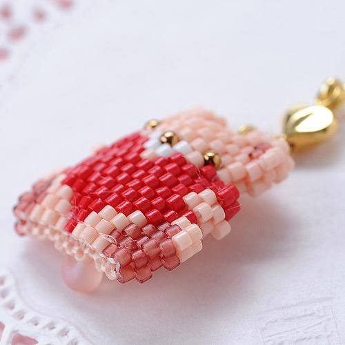 Happyベア(ピンク)  S-30b 【作家:Shinon あわいしのぶ】