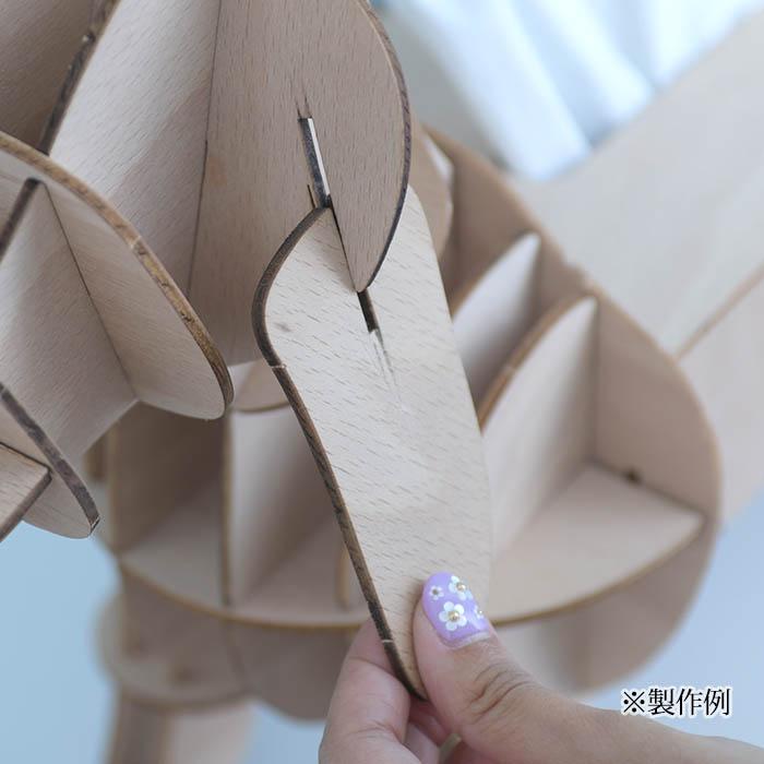 立体パズル 木製 ki-gu-mi ライティングデスク カレンダー