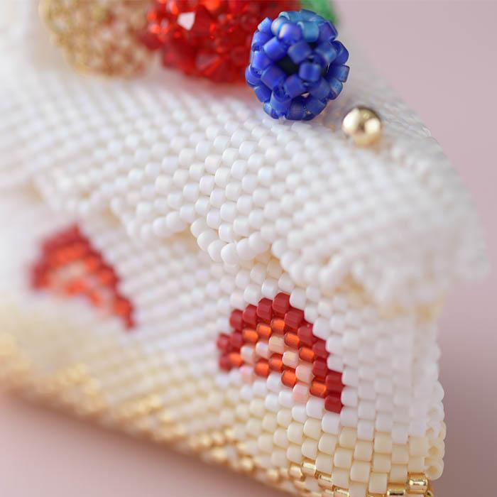 ステッチボックス〜苺ショートケーキ〜  ビーズマニア