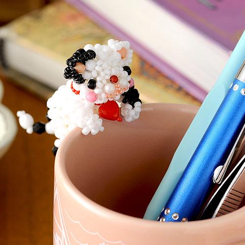 ☆3/10 再入荷☆ ひっかけにゃんこ〜ぶちねこ〜  ビーズマニア