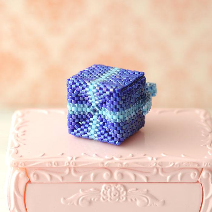 "Gift box(青)  【作家:しのはらみわ(Little""B"".)】"
