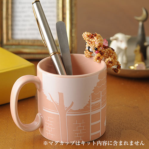 ひっかけにゃんこ〜茶トラ〜  【ビーズマニア】