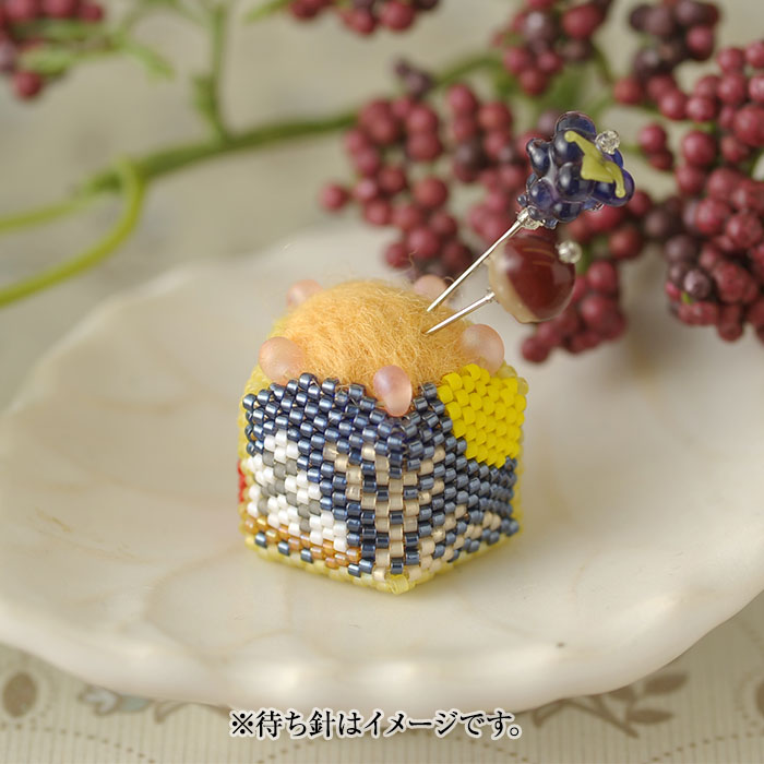 "Autumn pincushion  【作家:しのはらみわ(Little""B"".)】"