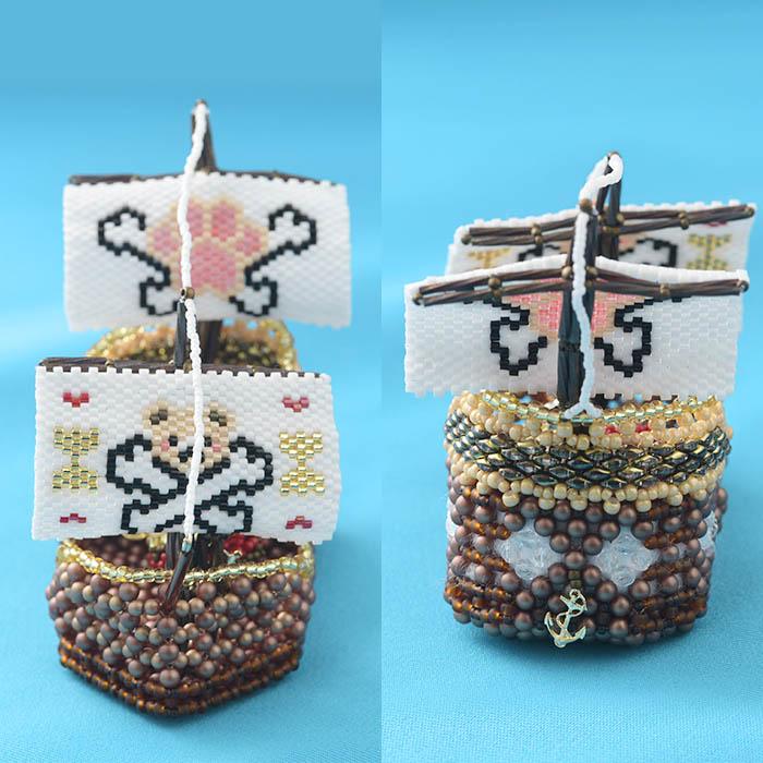 出航!海賊船テディベア号 ビーズマニア
