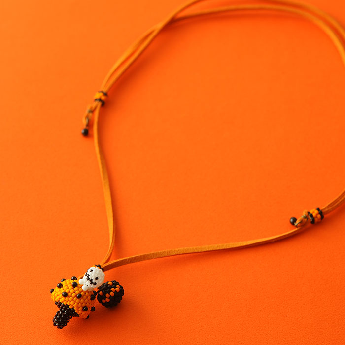 """ハロウィン収穫祭〜プチプチきのこ〜オレンジ  【作家:しのはらみわ(Little""""B"""".)】"""