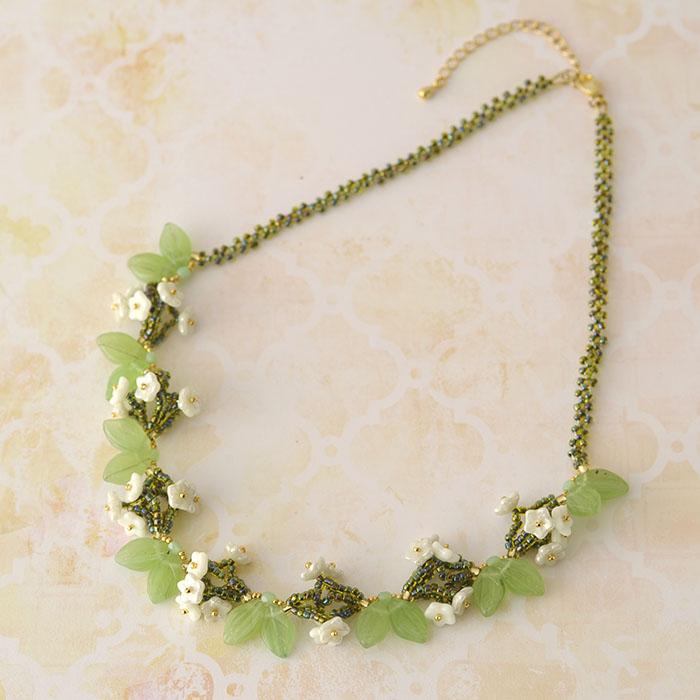 リトルフラワー  【作家:漆原昌美(Mai My Beads)】