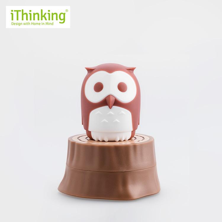 iThinking アイシンキング フクロウ ドライバーセット 切株付 マルーン HT-OW9002_B