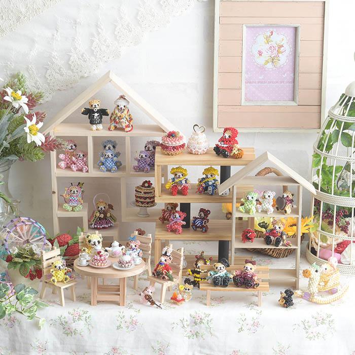【お取り寄せ商品】 木製ディスプレイ WB005