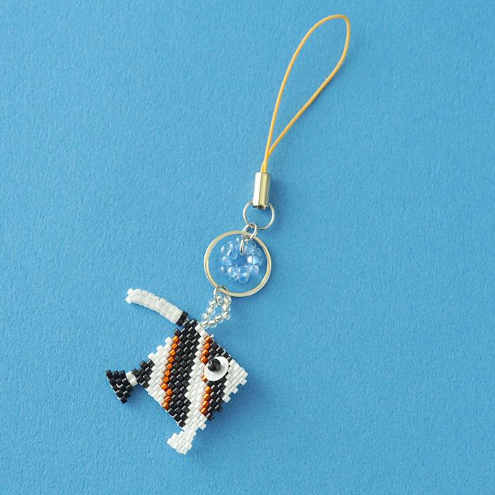 夏☆なつモチーフねったいぎょ〜つのだし〜  c-18012 【作家:Miki Kanai(Beads mode C'est la vie)】