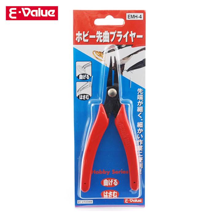 藤原産業 E-Value ホビー先丸プライヤー  EMH-4