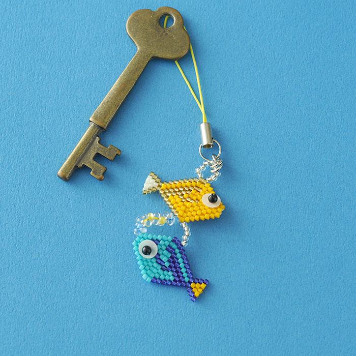 夏☆なつモチーフ〜なんようはぎ〜  c-18011 【作家:Miki Kanai(Beads mode C'est la vie)】