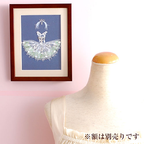 ビーズファクトリー 〜Beads Decor〜スワンレイク ※額は別売り BHD-31