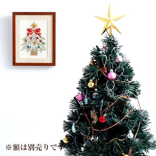 ビーズファクトリー 〜Beads Decor〜クリスマスツリー ※額は別売り BHD-34
