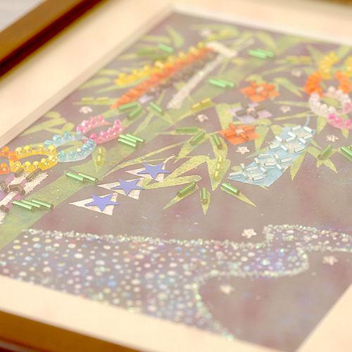 ビーズファクトリー 〜Beads Decor〜七夕(文月・7月) ※額は別売り BHD-90