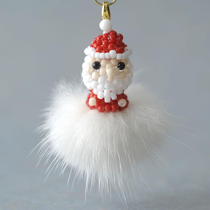 """Santa on fur☆〜赤〜 【作家:しのはらみわ(Little""""B"""".)】"""